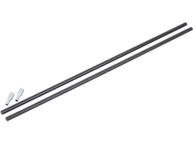CAMPZ Glass Fibre Pole with pin 9mm x 0,55m black
